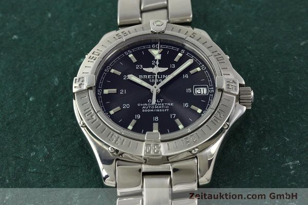 Used luxury watch Breitling Colt steel automatic Kal. B17 ETA 2824-2 Ref. A17350  | 150889 18