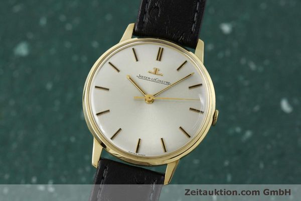 Used luxury watch Jaeger Le Coultre * 18 ct gold manual winding Kal. 885 Ref. 20007 VINTAGE  | 150890 04