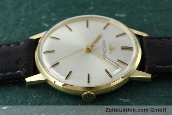 Used luxury watch Jaeger Le Coultre * 18 ct gold manual winding Kal. 885 Ref. 20007 VINTAGE  | 150890 05