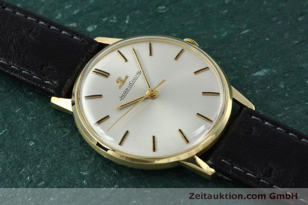 Used luxury watch Jaeger Le Coultre * 18 ct gold manual winding Kal. 885 Ref. 20007 VINTAGE  | 150890 13