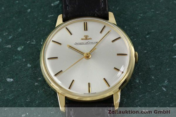 Used luxury watch Jaeger Le Coultre * 18 ct gold manual winding Kal. 885 Ref. 20007 VINTAGE  | 150890 14