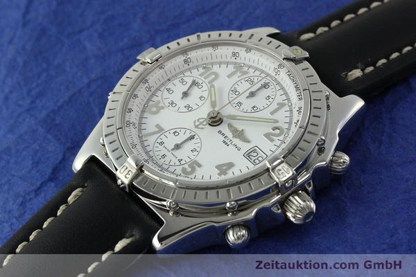 Used luxury watch Breitling Chronomat chronograph steel automatic Kal. B13 ETA 7750 Ref. A13050.1  | 150893 01
