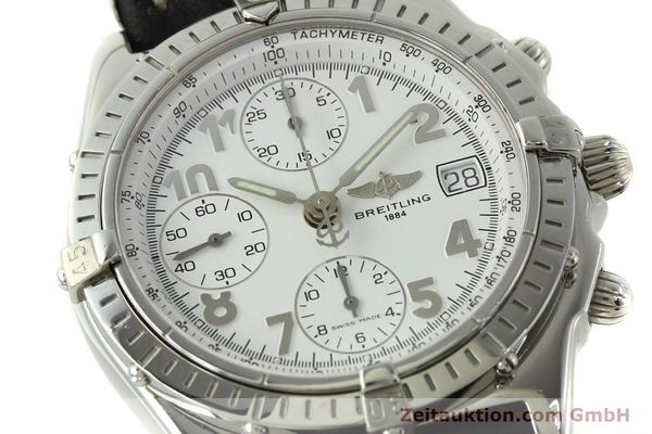 Used luxury watch Breitling Chronomat chronograph steel automatic Kal. B13 ETA 7750 Ref. A13050.1  | 150893 02