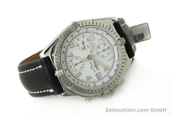 Used luxury watch Breitling Chronomat chronograph steel automatic Kal. B13 ETA 7750 Ref. A13050.1  | 150893 03