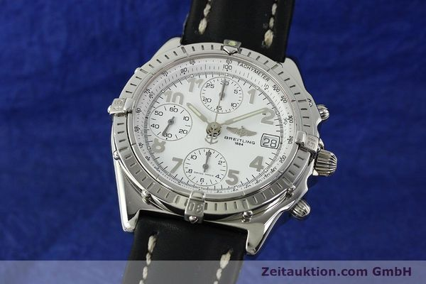 Used luxury watch Breitling Chronomat chronograph steel automatic Kal. B13 ETA 7750 Ref. A13050.1  | 150893 04