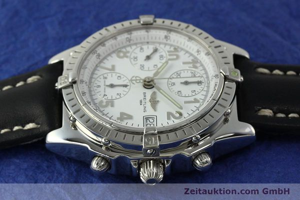 Used luxury watch Breitling Chronomat chronograph steel automatic Kal. B13 ETA 7750 Ref. A13050.1  | 150893 05
