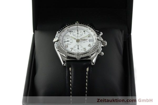 Used luxury watch Breitling Chronomat chronograph steel automatic Kal. B13 ETA 7750 Ref. A13050.1  | 150893 07