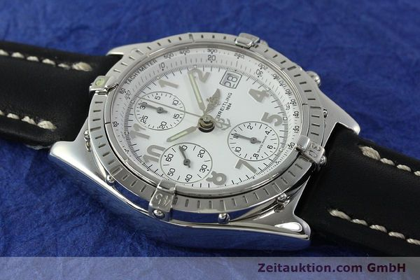 Used luxury watch Breitling Chronomat chronograph steel automatic Kal. B13 ETA 7750 Ref. A13050.1  | 150893 15
