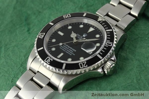 Used luxury watch Rolex Submariner steel automatic Kal. 3135 Ref. 16610  | 150896 01