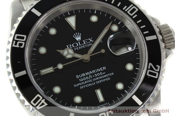 Used luxury watch Rolex Submariner steel automatic Kal. 3135 Ref. 16610  | 150896 02