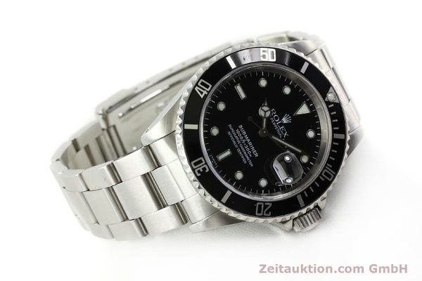 Used luxury watch Rolex Submariner steel automatic Kal. 3135 Ref. 16610  | 150896 03
