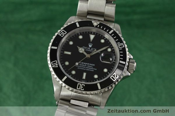 Used luxury watch Rolex Submariner steel automatic Kal. 3135 Ref. 16610  | 150896 04