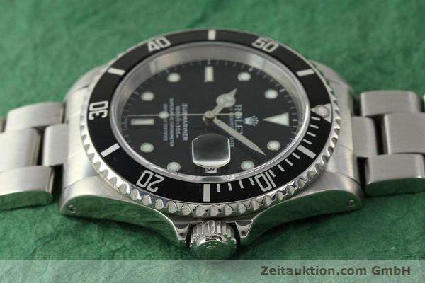 Used luxury watch Rolex Submariner steel automatic Kal. 3135 Ref. 16610  | 150896 05