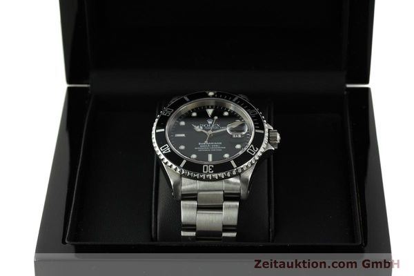 Used luxury watch Rolex Submariner steel automatic Kal. 3135 Ref. 16610  | 150896 07