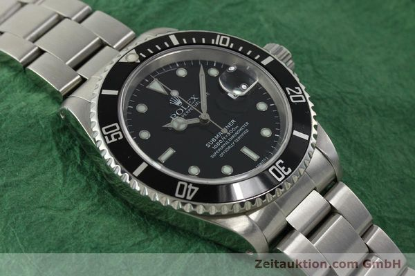 Used luxury watch Rolex Submariner steel automatic Kal. 3135 Ref. 16610  | 150896 15