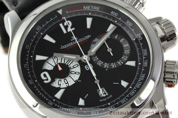 Used luxury watch Jaeger Le Coultre Master Compressor chronograph steel automatic Kal. 751 Ref. 146.8.25  | 150898 02