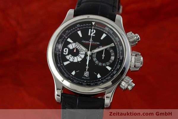 Used luxury watch Jaeger Le Coultre Master Compressor chronograph steel automatic Kal. 751 Ref. 146.8.25  | 150898 04