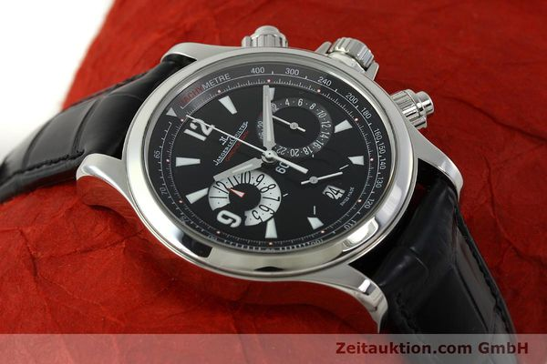 Used luxury watch Jaeger Le Coultre Master Compressor chronograph steel automatic Kal. 751 Ref. 146.8.25  | 150898 14