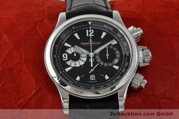Used luxury watch Jaeger Le Coultre Master Compressor chronograph steel automatic Kal. 751 Ref. 146.8.25  | 150898 15