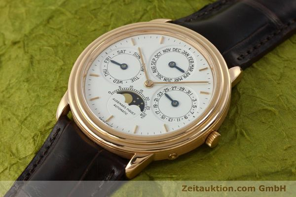 Used luxury watch Audemars Piguet Ewiger Kalender 18 ct gold automatic Kal. 2120/2 Ref. 61218  | 150899 01