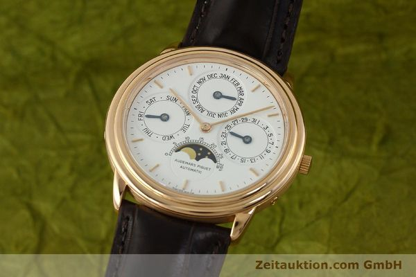 Used luxury watch Audemars Piguet Ewiger Kalender 18 ct gold automatic Kal. 2120/2 Ref. 61218  | 150899 04
