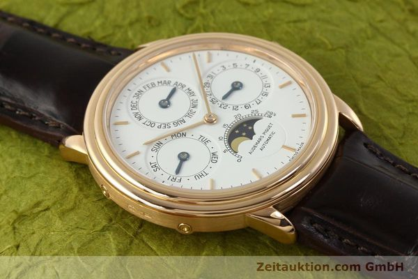 Used luxury watch Audemars Piguet Ewiger Kalender 18 ct gold automatic Kal. 2120/2 Ref. 61218  | 150899 18