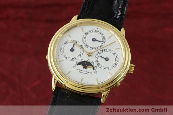 Used luxury watch Audemars Piguet Ewiger Kalender 18 ct gold automatic Kal. 2120/2 Ref. 21460  | 150900 04