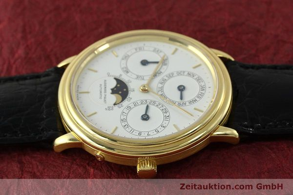 Used luxury watch Audemars Piguet Ewiger Kalender 18 ct gold automatic Kal. 2120/2 Ref. 21460  | 150900 05