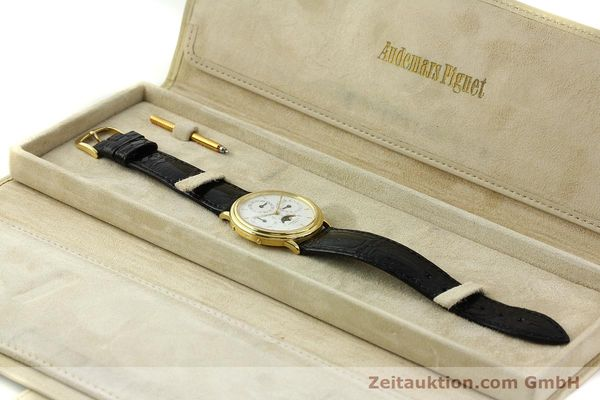 Used luxury watch Audemars Piguet Ewiger Kalender 18 ct gold automatic Kal. 2120/2 Ref. 21460  | 150900 07