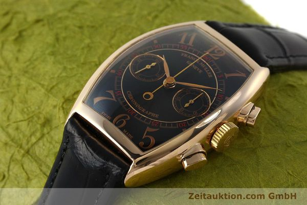 Used luxury watch Franck Muller Casablanca chronograph 18 ct gold manual winding Kal. LWO 1870 Ref. 5850CC  | 150901 01