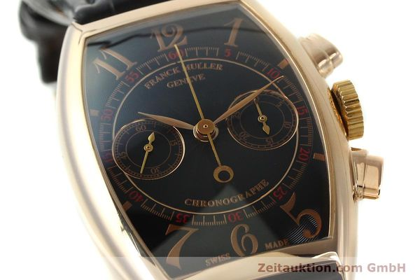 Used luxury watch Franck Muller Casablanca chronograph 18 ct gold manual winding Kal. LWO 1870 Ref. 5850CC  | 150901 02