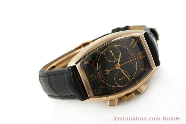 Used luxury watch Franck Muller Casablanca chronograph 18 ct gold manual winding Kal. LWO 1870 Ref. 5850CC  | 150901 03