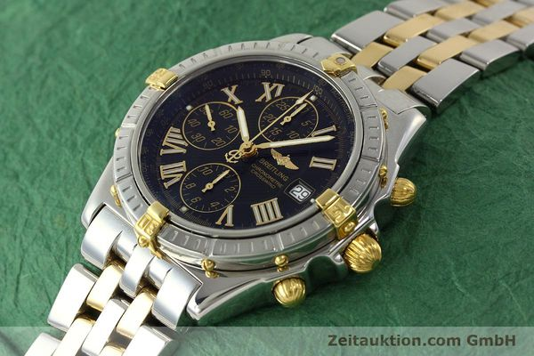 Used luxury watch Breitling Crosswind chronograph steel / gold automatic Kal. B13 ETA 7750 Ref. B13355  | 150905 01