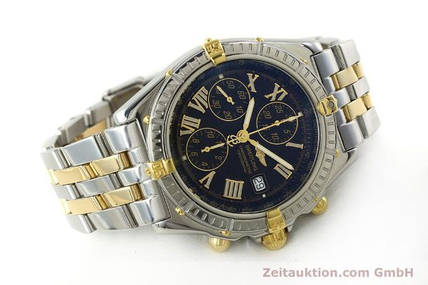 Used luxury watch Breitling Crosswind chronograph steel / gold automatic Kal. B13 ETA 7750 Ref. B13355  | 150905 03