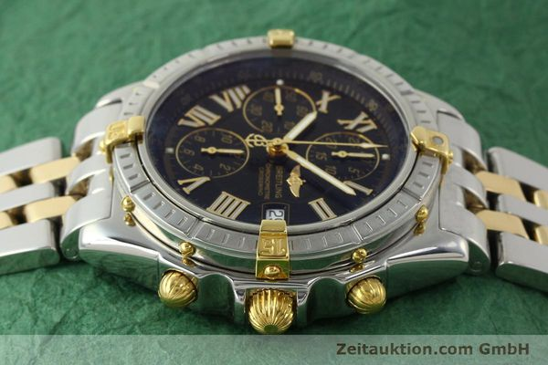Used luxury watch Breitling Crosswind chronograph steel / gold automatic Kal. B13 ETA 7750 Ref. B13355  | 150905 05