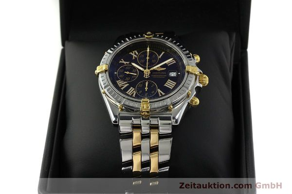 Used luxury watch Breitling Crosswind chronograph steel / gold automatic Kal. B13 ETA 7750 Ref. B13355  | 150905 07