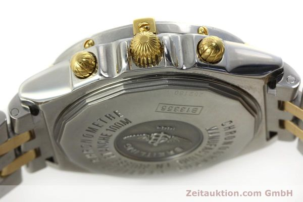 Used luxury watch Breitling Crosswind chronograph steel / gold automatic Kal. B13 ETA 7750 Ref. B13355  | 150905 08