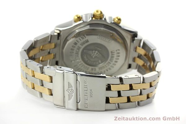 Used luxury watch Breitling Crosswind chronograph steel / gold automatic Kal. B13 ETA 7750 Ref. B13355  | 150905 11
