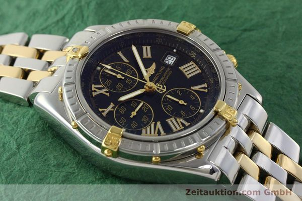 Used luxury watch Breitling Crosswind chronograph steel / gold automatic Kal. B13 ETA 7750 Ref. B13355  | 150905 15