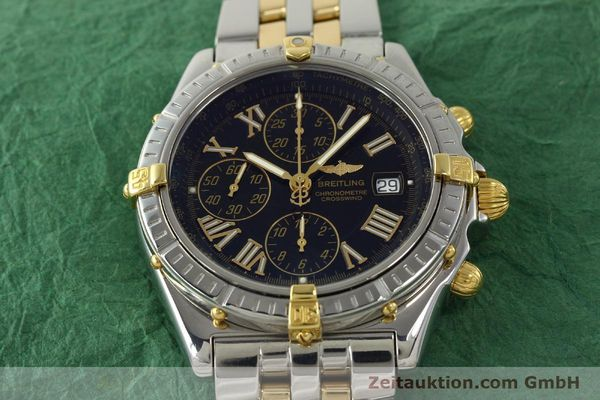 Used luxury watch Breitling Crosswind chronograph steel / gold automatic Kal. B13 ETA 7750 Ref. B13355  | 150905 16
