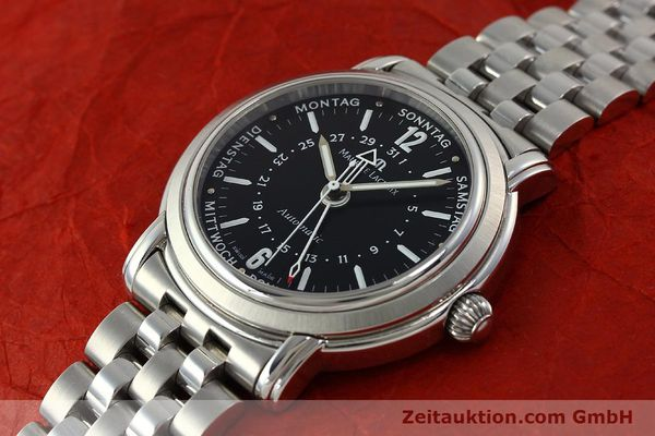 Used luxury watch Maurice Lacroix Masterpiece steel automatic Kal. ETA 2836-2 Ref. AF32200  | 150906 01