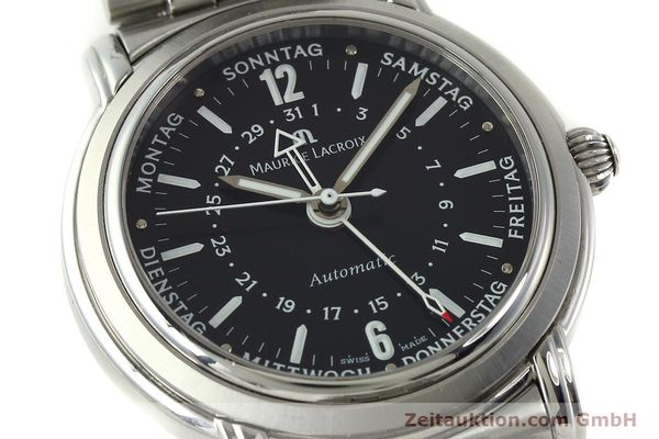 Used luxury watch Maurice Lacroix Masterpiece steel automatic Kal. ETA 2836-2 Ref. AF32200  | 150906 02