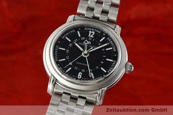 Used luxury watch Maurice Lacroix Masterpiece steel automatic Kal. ETA 2836-2 Ref. AF32200  | 150906 04