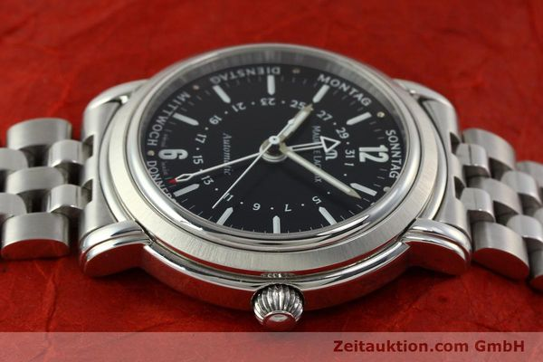 Used luxury watch Maurice Lacroix Masterpiece steel automatic Kal. ETA 2836-2 Ref. AF32200  | 150906 05