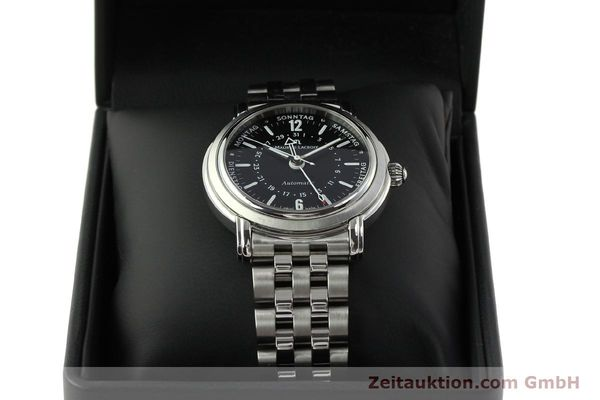 Used luxury watch Maurice Lacroix Masterpiece steel automatic Kal. ETA 2836-2 Ref. AF32200  | 150906 07