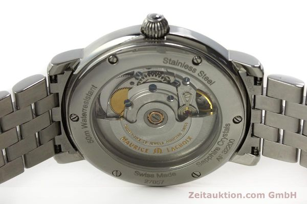 Used luxury watch Maurice Lacroix Masterpiece steel automatic Kal. ETA 2836-2 Ref. AF32200  | 150906 09