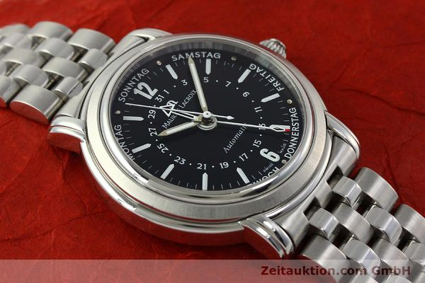 Used luxury watch Maurice Lacroix Masterpiece steel automatic Kal. ETA 2836-2 Ref. AF32200  | 150906 13