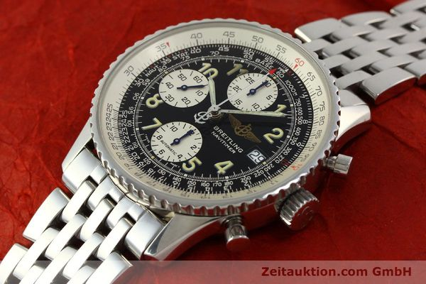 Used luxury watch Breitling Navitimer chronograph steel automatic Kal. B13 ETA 7750 Ref. A13022  | 150909 01