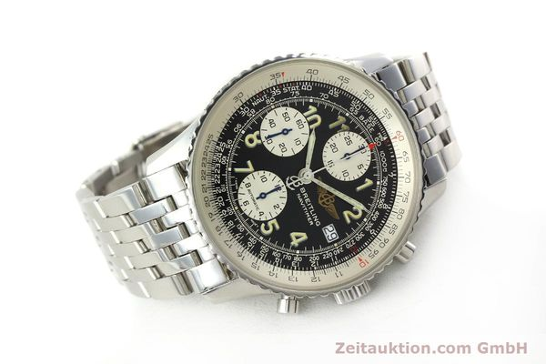 Used luxury watch Breitling Navitimer chronograph steel automatic Kal. B13 ETA 7750 Ref. A13022  | 150909 03