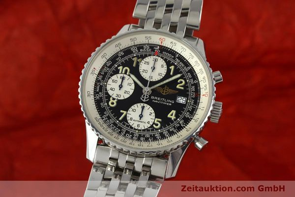 Used luxury watch Breitling Navitimer chronograph steel automatic Kal. B13 ETA 7750 Ref. A13022  | 150909 04